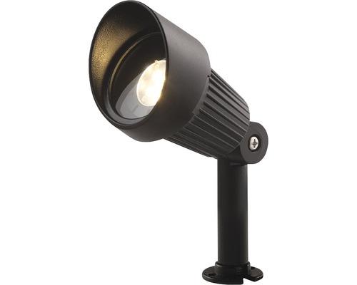 Borne extérieure LED Verona GU5.3/3 W noir