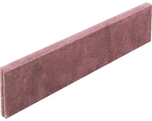 Pierre de bordure de gazon bordeaux 100x25x5cm