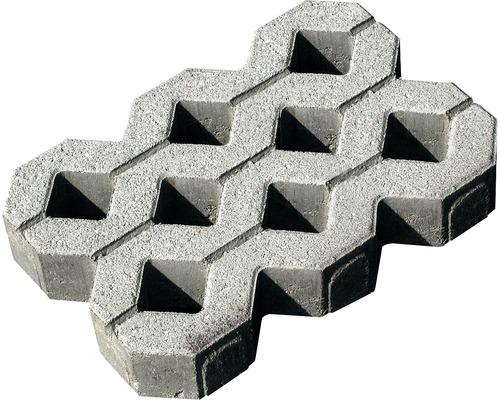 Dalle stabilisatrice en béton gris 60 x 40 x 8 cm