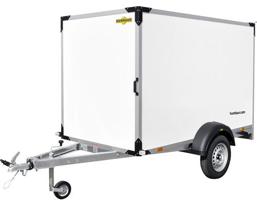 Remorque fourgon Humbaur Trolly Basic 2510x1320x1520mm non freinée poids total adm. 750kg
