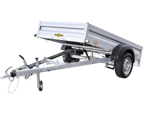 Humbaur Einachsanhänger Alumaster 2510x1310x350mm gebremst, kippbar zul. Gesamtgewicht 1300kg