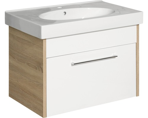 Kit de meubles de salle de bains Lagos 58.5x48cm