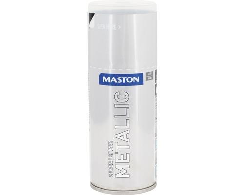 Peinture en bombe aérosol Maston metallic argent 150 ml