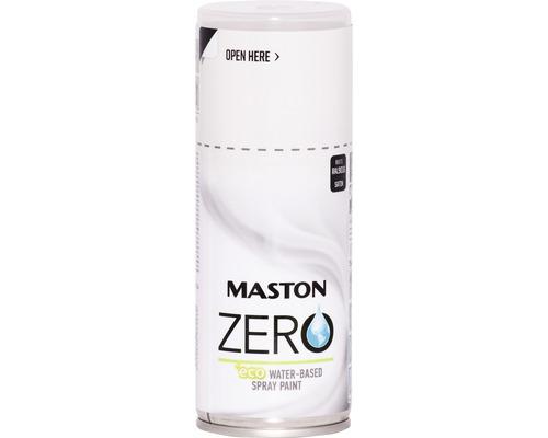 Peinture aérosol Maston Zero RAL 9016 blanc 150 ml