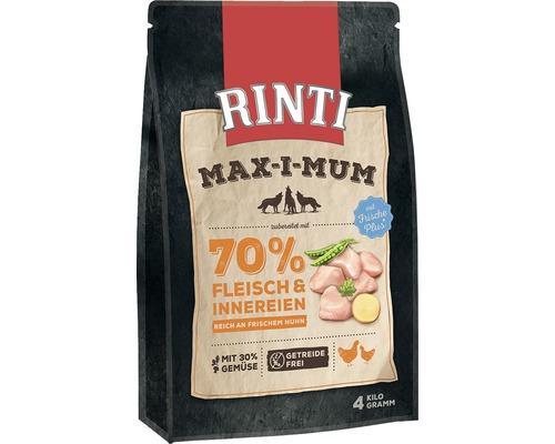 Hundefutter trocken, Rinti Max-i-mum Huhn getreidefrei 4 kg