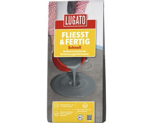 Ausgleichsmasse Lugato Fliesst & Fertig schnell 5 kg