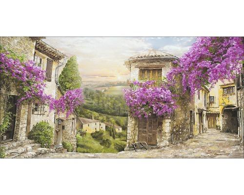 Tableau sur toile Colourful Toscana 50x100 cm