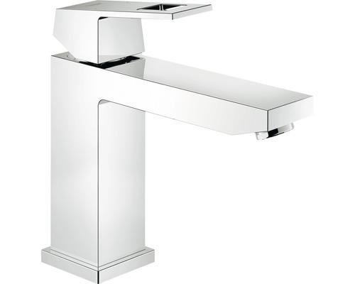 Mitigeur de lavabo GROHE Eurocube 23446000 chrome sans mécanisme de vidage