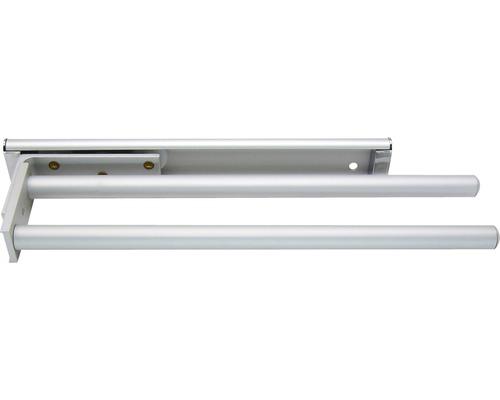 Porte-serviettes FACKELMANN 2bras 30,5cm aluminium