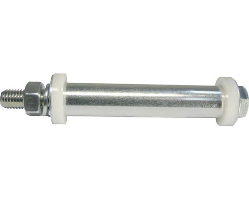 Tarrox Achszubehör für Capito Schubkarren, Rad 20 auf 12 mm, Nabe 88/100 mm