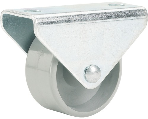 Roulette fixe pour appareils de transport, jusqu'à 20 kg, 15 x 18 x 14 mm