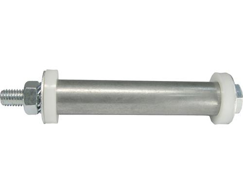 Tarrox Achszubehör für Haemmerlin und Limex Schubkarren, Rad 20 auf 10 mm, Nabe 88/100 mm