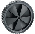 Tarrox PVC-Rad, bis 25 kg, mit Kunststofffelge und Stollenprofil, 150 x 34 x 12 mm