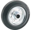 Tarrox Standard Vollgummirad, bis 150 kg, mit Stahlfelge, 160 x 40 x 20 mm