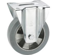 Roulette fixe pour appareils de transport Tarrox, jusqu''à 300 kg, 160x195x50 mm, plaque 140x110 mm-thumb-0
