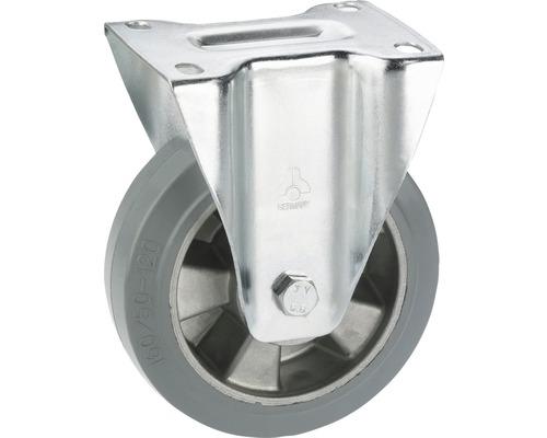 Roulette fixe pour appareils de transport Tarrox, jusqu'à 300 kg, 160x195x50 mm, plaque 140x110 mm