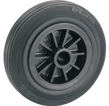 Tarrox Caoutchouc plein-roue 100 mm jante plastique, 12x40 mm-thumb-0