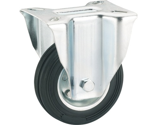 Tarrox Transport-Geräte-Bockrolle, bis 100 kg, 125 x 157 x 37 mm