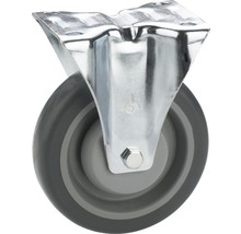 Tarrox TPE-Roulette fixe 100 mm plaque 105x85 mm palier billes-thumb-0