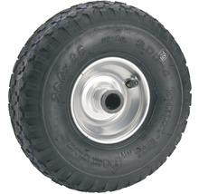 Tarrox Roue gonflable 260 mm, jante acier argent, moyeu 20x75 mm-thumb-0