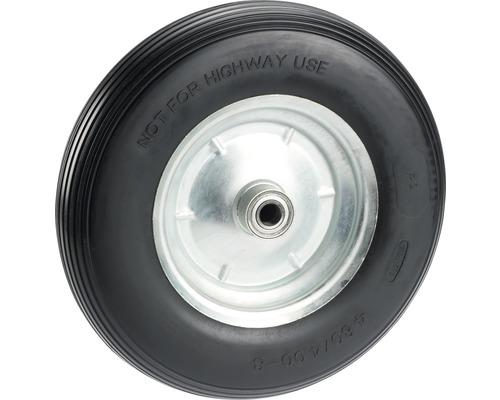 Tarrox pannensicheres Rad, bis 100 kg, mit Kunststofffelge und Rillenprofil, 400 x 100 mm