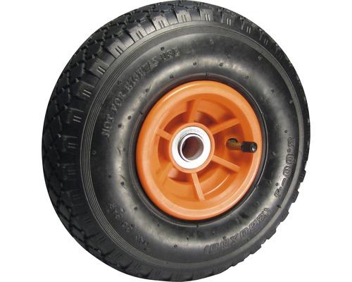 Tarrox Roue gonflable 260 mm, jante plastique moyeu 20x60 mm