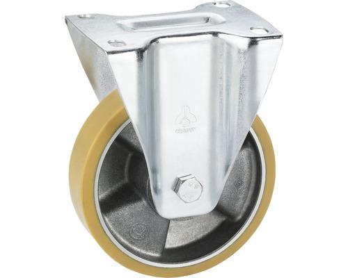 Bockrolle Tarrox aluminium polyurethan 150x40 mm