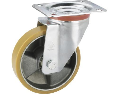 Lenkrolle Tarrox aluminium polyurethan 150x40 mm