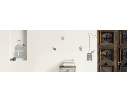 Sticker mural Cages and Birds 49x69.5cm