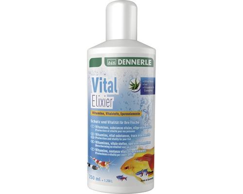 Vitamines Elixir Vital DENNERLE, substances vitales, oligoéléments pour aquariums d'eau douce 250ml