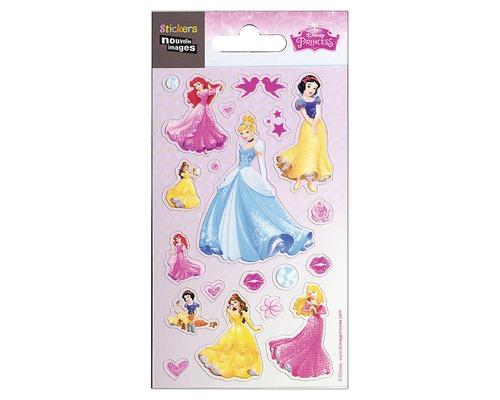 Sticker mural mini princesse 7,8 x 14,5 cm