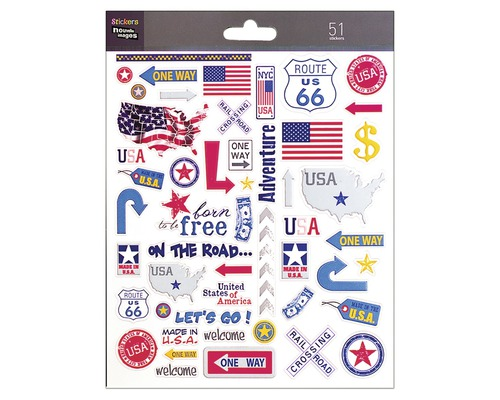 Sticker mural mini New York 16 x 20 cm