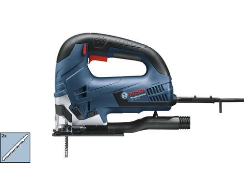 Scie sauteuse Bosch Professional GST 90 BE avec coffret de transport, aspiration de la poussière et 2 x lames de scie sauteuse T 144 D