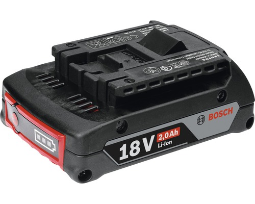 Batterie de rechange Bosch GBA 18 V Li (2.0Ah)