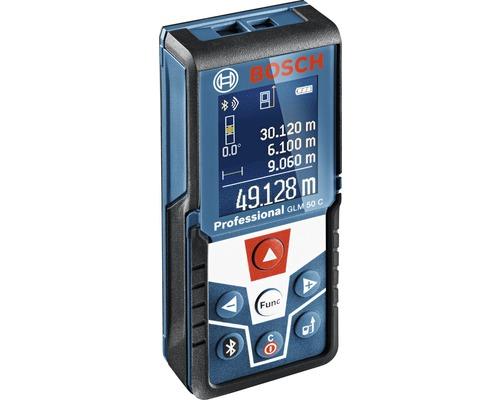 Télémètre laser Bosch Professional GLM 50 C avec kit d''accessoires (housse de protection)