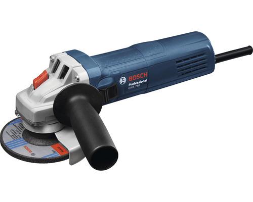 Meuleuse d''angle Bosch Professional GWS 750 (115 mm) avec poignée supplémentaire