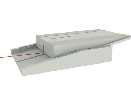 Système de support central pour bacs de douche