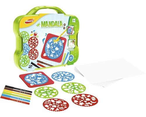 Coffret créatif Mandalas à dessiner et à peindre