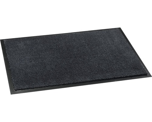 Tapis anti-salissures Soft&Clean anthracite 50x75 cm