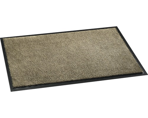 Paillasson anti-salissures Soft&Clean taupe 50x75cm