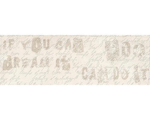 Carrelage décoratif en grès cérame fin Brick beige 11x33,15cm