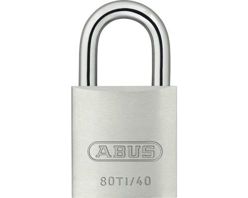 Cadenas Abus Titalium 80TI/40 B/SB