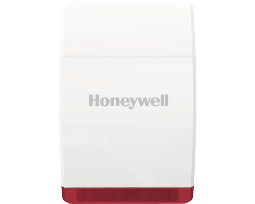Sirène extérieure Home Security Dummy Honeywell HS3DS1S blanc
