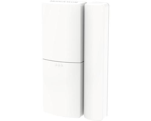 Funk Tür und Fensterkontakt weiß mit Klebepads Honeywell HS3MAG1S