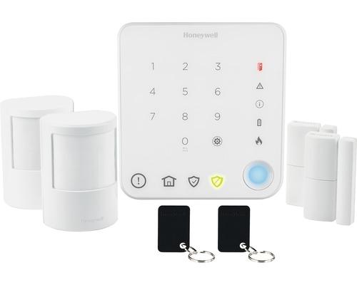 Kit de démarrage pour systèmes d''alarme radio Honeywell sans fil HS330S blanc