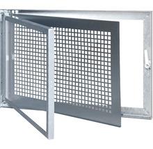 Fenêtre de cave en acier Wolfa Type SD1 50x50cm 1 vantail verre de sécurité trempé tirant gauche-thumb-0