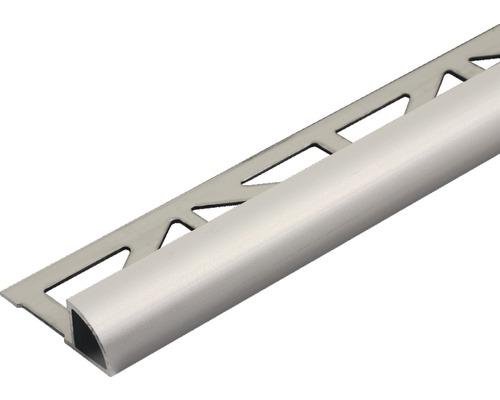 Profilé de finition quart de rond Dural Durondell DRAE 100-T aluminium longueur 250 cm hauteur 10 mm