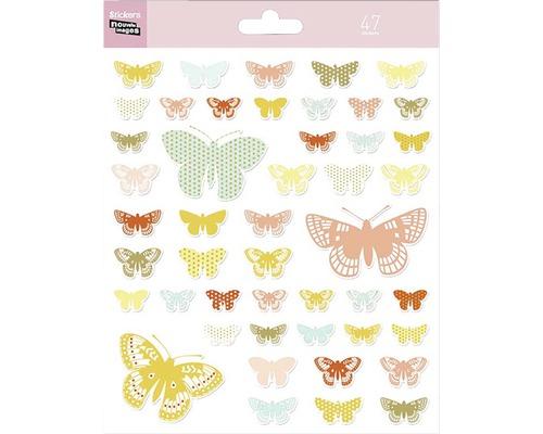 Mini stickers 312 Papillons 47pces