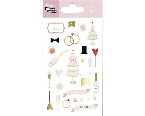 Mini stickers 263 Wedding 27pces