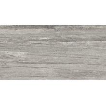 Carrelage pour sol en grès cérame fin Portman gris 32x62,5cm-thumb-0